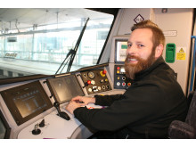 Newly-qualified Thameslink driver Paul Butler