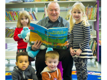 EASTER FUN: Young person's librarian Ray Stearn will be leading story sessions based around the themes of family and food for Easter