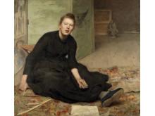 Hanna Pauli, Konstnären Venny Soldan-Brofeldt, 1886-1887, Göteborgs konstmuseum