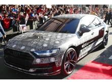 Audi A8 sneak peek