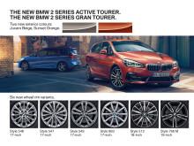 BMW 2-serie Active Tourer og BMW 2-serie Gran Tourer 2018 - highlights
