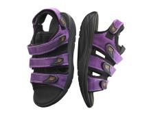 WEB-sandal i lila