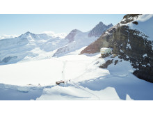 Jungfraujoch mit der Mönchsjochhütte