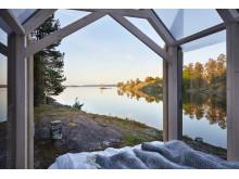 72 hour cabin på Henriksholm