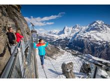 Thrill Walk am Schilthorn im Berner Oberland