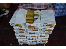 Tobacco seized