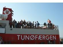 Flere tager til Tunø, efter at færgepriserne er blevet sat ned.