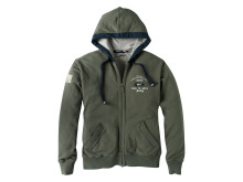 Musto Hooded Graphic Jkt Military
