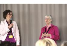 Ann-Therese Karlberg och Gudrun Bremle