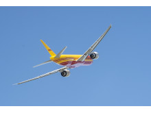 DHL Express' nye Boeing 777 fly