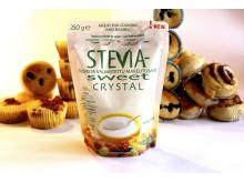 Baka gott med Hermesetas SteviaSweet Crystal
