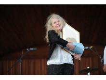 Kristina Lugn - årets Karamelodiktstipendiat 2014