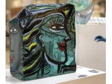 Glaskonst av Ulrica Hydman Vallien ställs ut på Kungsmässan i Kungsbacka