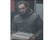 Image of man police wish to speak with - Suspect 1
