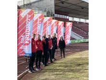 Karlstad laddar inför Friidrotts-SM 2019.