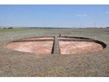 Utgrävning av en begravningsplats i södra Uralerna.