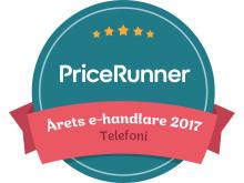 NetOnNet är årets e-handlare 2017 i kategorin Telefoni