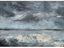 "AUGUST STRINDBERG, ""PACKIS I STRANDEN"" (ICE BOULDERS ON THE SHORE). FINAL PRICE: 11 392 500 SEK"