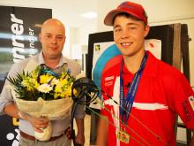 Martin Andersen og Stephan Hansen