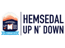 Logo liggende Hemsedal Up N' Down