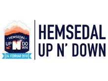 Logo liggende Hemsedal Up N' Down
