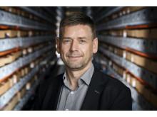 Områdeleder for digital bevaring og oparbejdning, Rigsarkivet. Jan Dalsten Sørensen