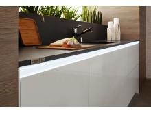 Suede, den innovativa sammetslena Silestone®-ytan. Samma enastående hållbarhet.