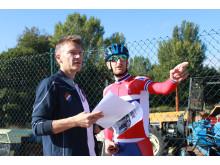 Stig Kristiansen og Reidar Borgersen sykkel-VM 2014
