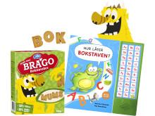 """Brago boktavskex och boken """"Hur låter bokstaven?"""""""