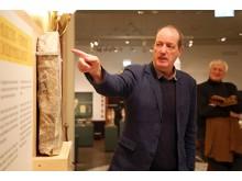 Ägyptisches Museum - PD Dr. Dietrich Raue erklärt die Stücke der Sonderausstellung