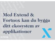 Med Extend & Fortnox kan du bygga ditt ekosystem av applikationer