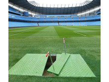 Fibrelite covers installed in Premier League stadium