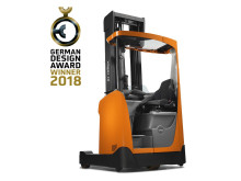 German Design Award 2018 till skjutstativtrucken BT Reflex i R-serien