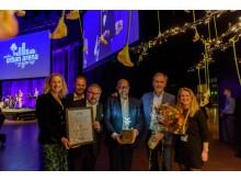 Väla och Frölunda Torg vinnare i NCSC Awards.