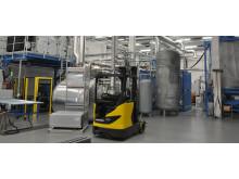 Ny toppmodern produktionsanläggning hos Sto i Linköping