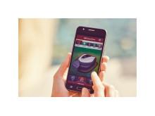 Honda robotgräsklippare Miimo HRM3000 inställningar kan ändras via en smartphone-app