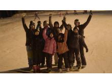 Skidlyftet 2017 - Barn backe grupp