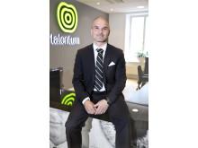 Aarne Aktan, VD på mediehuset Talentum Sverige