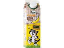 Högupplöst Tigers Eko Yoghurt Banan