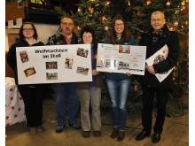 """Aktion im Gut Mößlitz: """"Weihnachten im Stall"""" - 9.000 Euro für Kinderhospiz Bärenherz"""