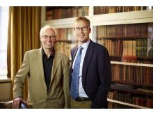 Pristagare av AkzoNobel Science Award 2013: Per Claesson och Lars Hultman