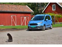 Nye Ford Transit Courier er norges minste og rimeligst varebil