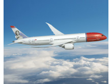 A brand new 787-9 Dreamliner, a larger version of Norwegian's current Dreamliners.