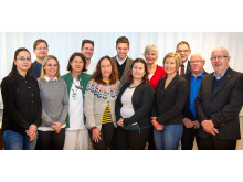 Utdelning av forskningsanslag från Lions Cancerforskningsfond
