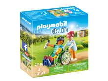 70193 Patient im Rollstuhl von PLAYMOBIL