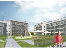 Kvarteret Kattugglan, Marieberg,  Nyköping, Riksbyggen