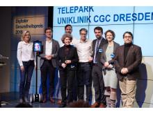 TelePark gewinnt Digitalen Gesundheitspreis