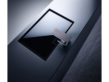 AXOR MyEdition håndvaskarmatur med designplade i læder