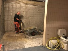 Renovering av herregarderobe