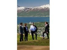 Tromsø in Nordnorwegen bietet nicht nur Konferenzteilnehmern ein faszinierendes Umfeld